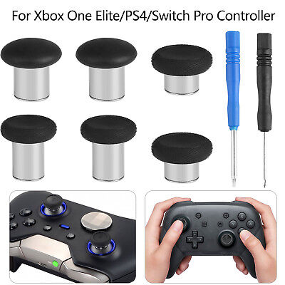 6-pack Swap Thumbstick Analog Stick for Xbox One Elite/PS4/Switch Pro Controller