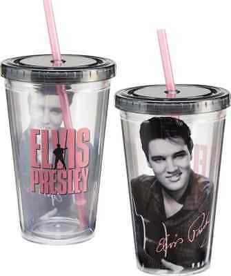cf7f976fc64 ELVIS PRESLEY INSULATED Travel Mug, Black , New, Free Shipping ...