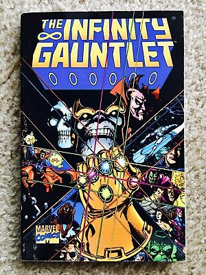 Infinity Gauntlet 1 TPB by Marvel Comics in (VF+/NM) Condition!!