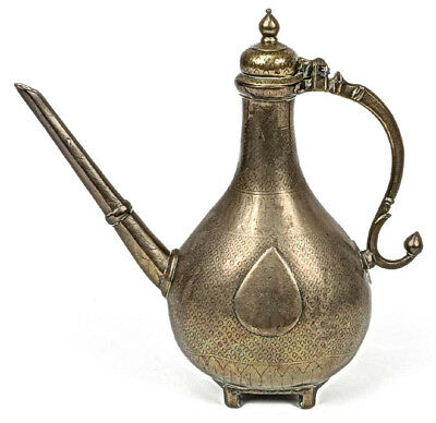 Antique Islamic  Mughal Bronze Ewer