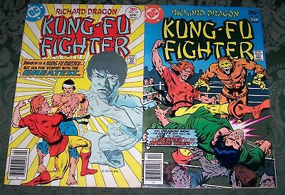 Richard Dragon Kung-Fu Fighter Lot 14 18 FN DC Bronze Age Bronze Tiger Shiva