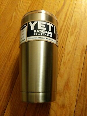 YETI Rambler 20oz Tumbler with Magslider Lid-Stainless Steel