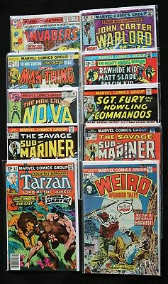 Marvel Comics Bronze Age Collection from 1974 through 1978 - Ten Classics!