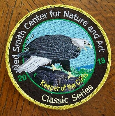 Pa  Pennsylvania Game  Ned Smith Center  Patch  2018 Bald Eagle Classic Series