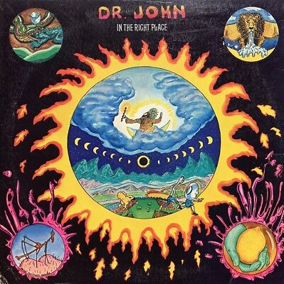 Dr. John: In The Right Place-1973 Atco Yellow 1st Pressing Gatefold Stereo LP