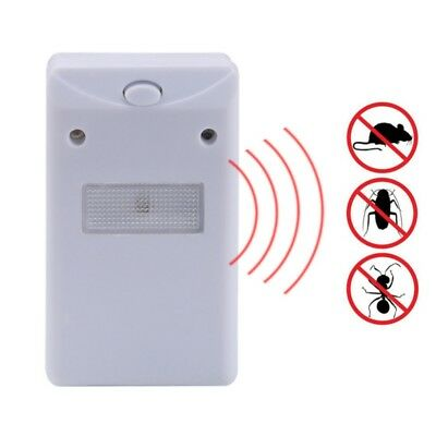 Pest Control Drives Away Animals w/Flashlight Ultrasonic Outdoor Insect Repeller