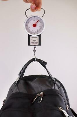 Portable Mechanical Luggage Fishing Scale Travel Bag Baggage Weighing Tool 35Kg
