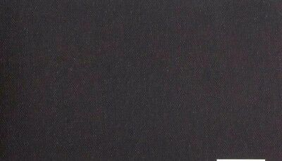 Luca Canvas Rolls - acrylic primed BLACK-11 oz (72'') 1.82 x 20m  smooth texture