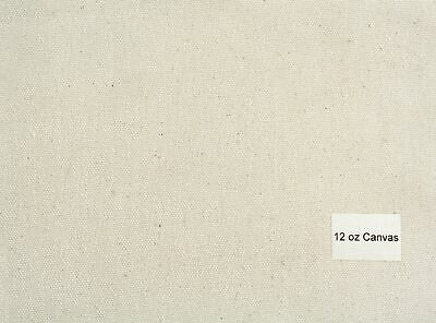 Luca Canvas Rolls - Unprimed Cotton-12oz medium texture (84'') 2.12 x 2m