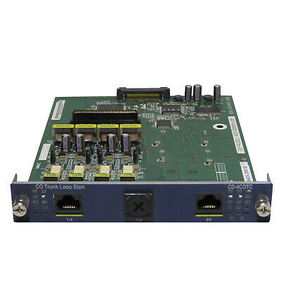 NEC SV8100 CD-4COTC 4-Channel PSTN Services Base Card (4422023) - Used