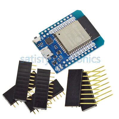Wemos Mini D1 ESP8266 CP2104 ESP32/32S WIFI&Bluetooth Development Board Module