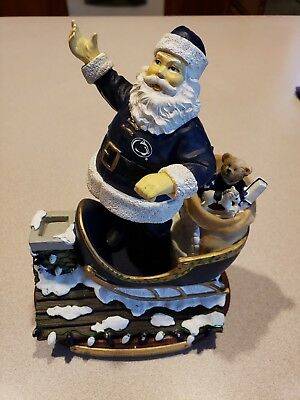 Memory Company Penn State PSU Rooftop Santa Clause Figurine Limited Edition #834