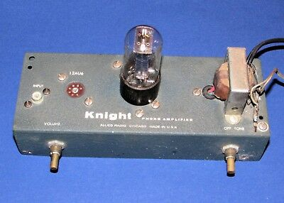 Vintage Small Knight Phono Tube Amplifier