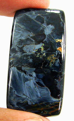 54.40 Ct Natural Chatoyant Blue Pietersite Loose Cab Designer Gemstone - 17917
