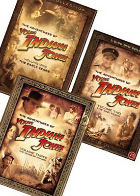 The Adventures of Young Indiana Jones - Complete Collection NEW PAL 17-DVD Set