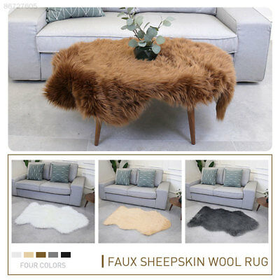 852A Fluffy 120X75cm Bedroom Wool Carpet Fluffy Rugs Multicolored Living Room