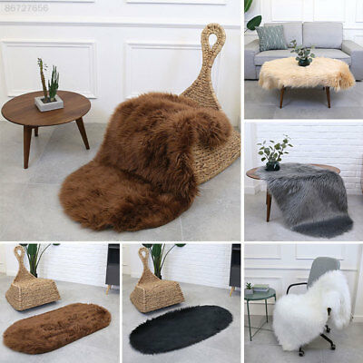 FD57 Multicolored Chair Mat Home Decoration Fluffy Fluffy Rugs Carpet Floor