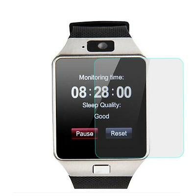 Clear LCD Screen Protector Protective Film For DZ09 Smart Watch Phone MZ