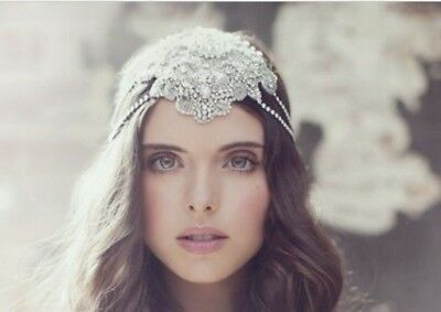 Viktoria Novak Custom Bridal Headpiece