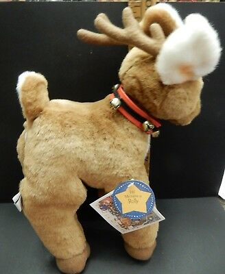 Vintage HALLMARK PLUSH  REINDEER  ROLLY NEW with TAG