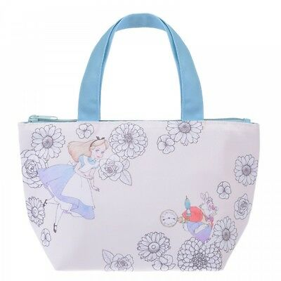 New Disney Store Japan Lunch bag Alice in the Wonderland Plants from Japan F/S