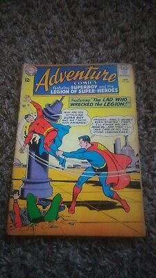 """Adventure Comics #328 (January 1965, DC) """"The Lad Who Wrecked the Legion"""""""