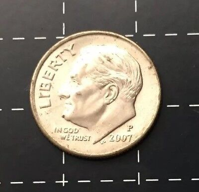 2007 United States Of America U.s.a - Us One Dime Coin - Liberty