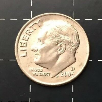 2005 United States Of America U.s.a - Us One Dime Coin - Liberty