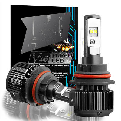 CREE 9007 LED Headlight Bulb Fit 1996-2007 Dodge Caravan High-Low Conversion KIT