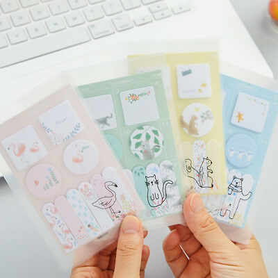 Cartoon Memo Pad Cute Stationery Paper Sticky Notes Notepad Stickers Hot Sale