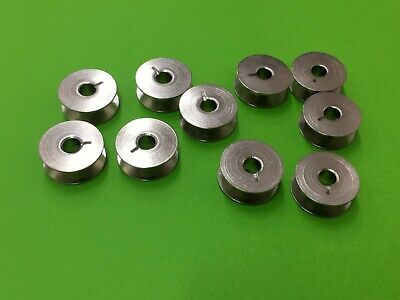 12 x Sewing Machines Rotating Grip Spools Metal for Pfaff and Gritzner