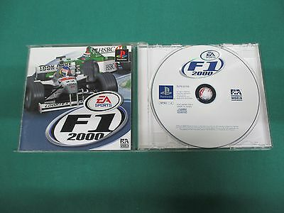 PlayStation -- F1 2000 -- PS1. JAPAN. GAME. Work fully. 29822