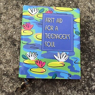 FIRST AID FOR A TEENAGERS SOUL Cute Miniature Gift Book (1999) Hardcover