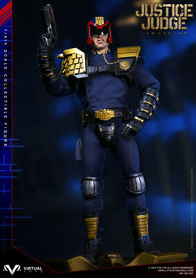 VTS TOYS VM-023 HEAVY ARMORED SPECIAL COP JUDGE DREDD w/ 2 Heads 1/6 FIGURE