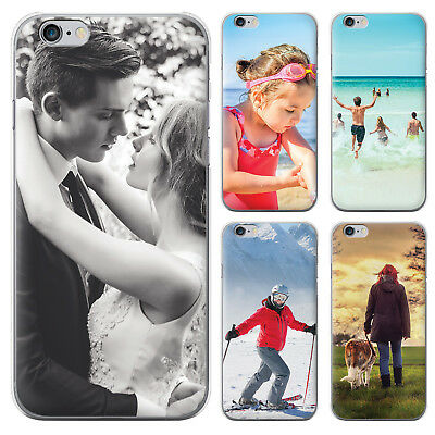 Personalised Custom Rubber Photo Case Phone Cover For iPhone 5 6 7 8 Plus XS Max