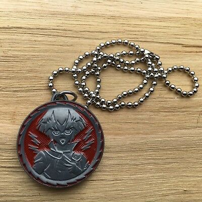 "YUGIOH GX ""Silver & Red"" Awesome Children's Anime Pendant Fashion Necklace"