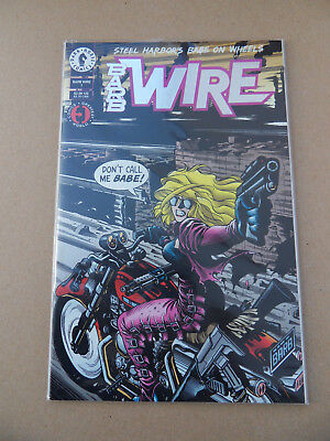 Barb Wire 1 . Foil Logo . Dark Horse . 1994 . VF / NM