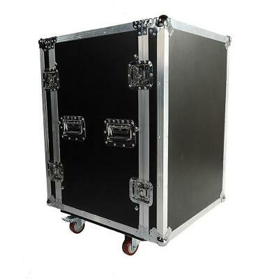 New High Quality 19 Inch Space Rack Case Double Door 16U DJ Equipment Cabinet