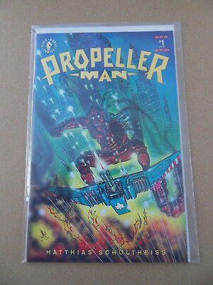 Propellerman 1 of 8 . Dark Horse 1993 . VF / NM