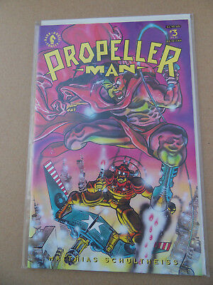 Propellerman 3 0f 8 . Dark Horse 1993 . VF / NM