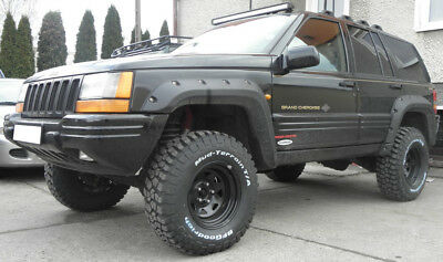 Jeep Grand Cherokee Zj 1992 - 1998 Fender Flares - Wheel Arch Extensions
