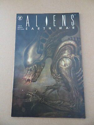 Aliens : Earth War 1 of 4 . Dark Horse . 1990 . FN +