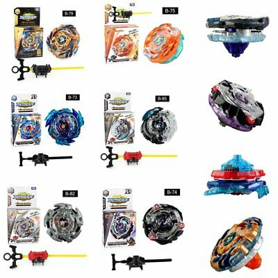 Beyblade Burst Starter Bey Blade Top Spinning Kids Battle Game Toy with Launcher