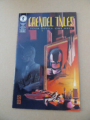 Grendel Tales :Four Deils ,One Hell 2 of 6 . Mature Readers .Dark Horse 1993 .