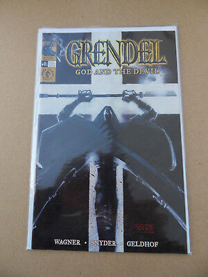 Grendel Tales : God And The Devil 1 of 10 . Dark Horse 2003 . VF / NM
