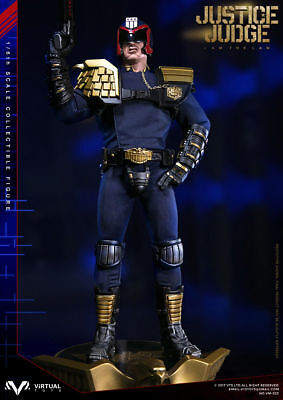 VTS TOYS 1/6 JUSTICE JUDGE Dredd Policeman Figure Model F Collection
