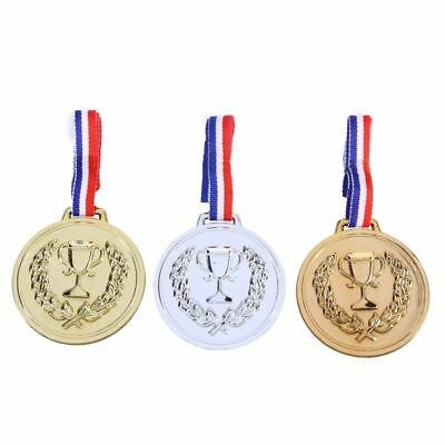 12Pcs Kids Medals Early Learning Set Toys for Race Sports Match Game Competition