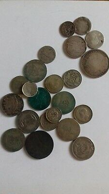 Silver Coins, Mainly Scrap. 94g.