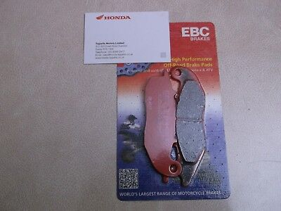 Honda Pcx125 / Ww125 2019 Model Ebc Front Brake Pads Set