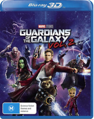 Guardians of the Galaxy: Vol. 2 (3D Blu-ray)  - BLU-RAY - NEW Region ALL